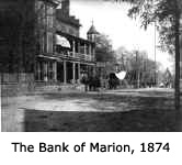 The Bank of Marion 1874