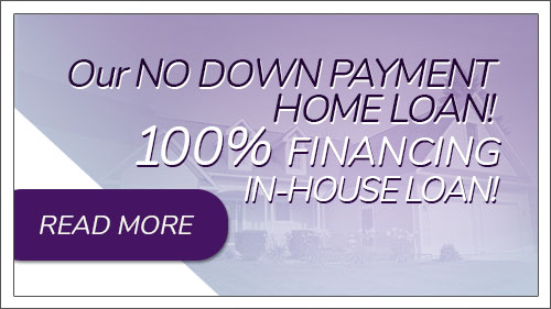 Image button to 100% no down payment home loans