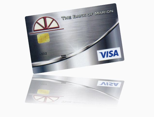 The Bank of Marion Debit Card