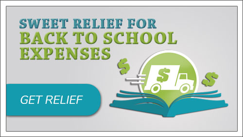 Sweet Relief for back to school expenses.