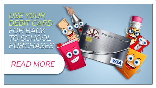 Use your debit card for back to school expenses