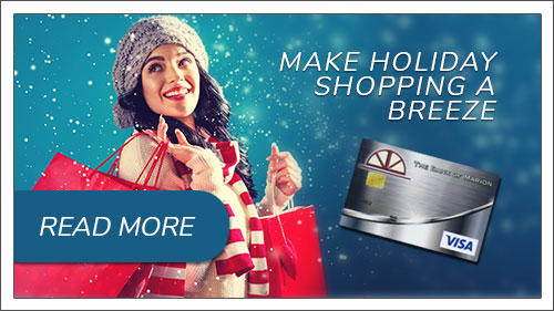 Make Holiday shopping a breeze. Click to read more about using your debit card.