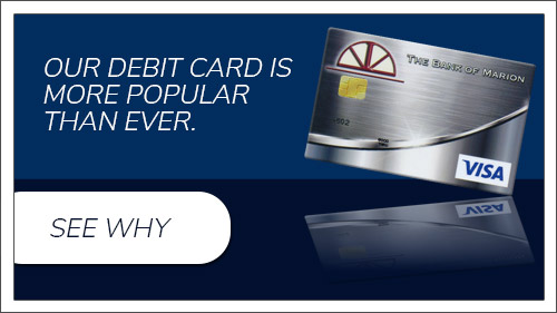 Our debit card is more popular than ever. See why.