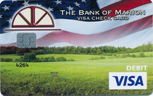 American Flag Debit Card