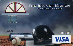 Baseball Debit Card Design