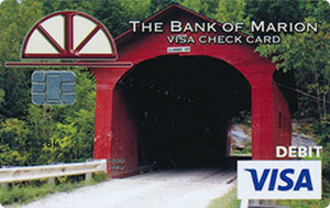 Covered Bridge Debit Card Design