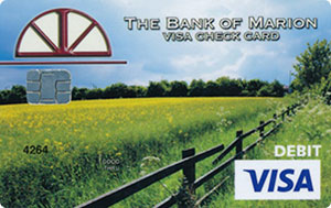 Country Field Debit Card Design