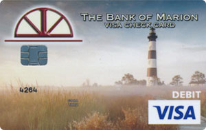Lighthouse debit card design