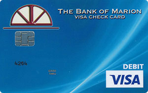 Teal swoop debit card design