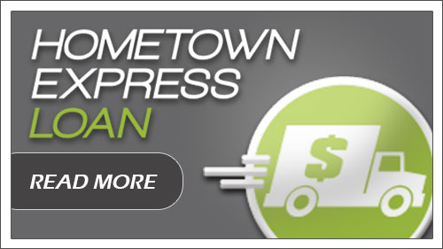 The Hometown Express Loan . Click to get started.