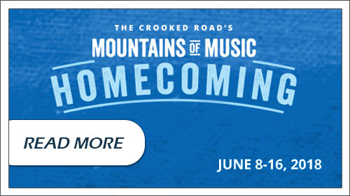 Click to read more aboutt Mountains of Music Homecoming June 8-16, 2018