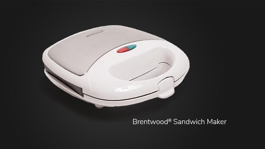 Open a new checking account and get a free Brentwood Sandwich Maker.